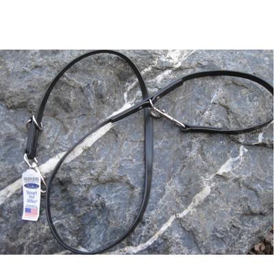Sparky's Multi-Function Dog Lead Black Leather