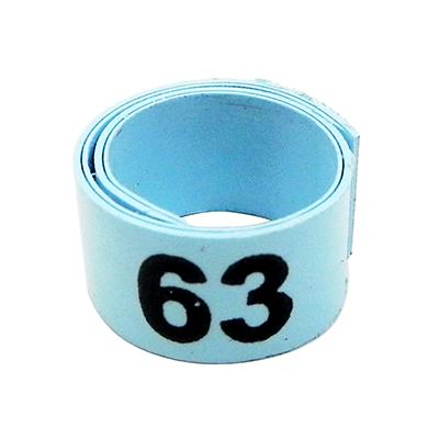 Poultry Numbered Leg Bandette Blue Size 9 (single band)