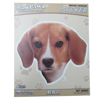 Indoor or Outdoor Beagle Sticker Decal