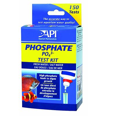 API Fresh and Saltwater Aquarium Phosphate Test Kit Click for larger image