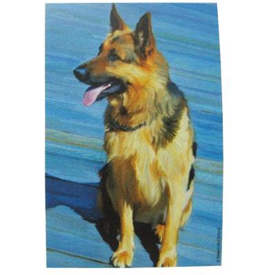 Robert McClintock Licensed Garden Flag German Shepherd