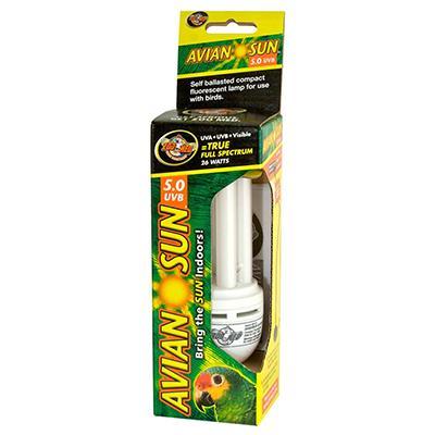 Zoo Med AvianSun Compact Fluorescent Bulb 26 watt Click for larger image