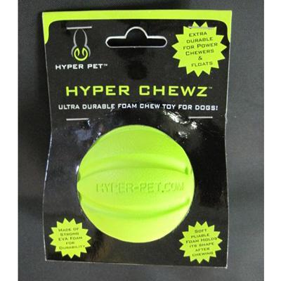 Hyper Pet Hyper Chewz Ball Dog Toy