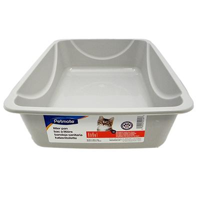 Cat Litter Pan Medium Plastic