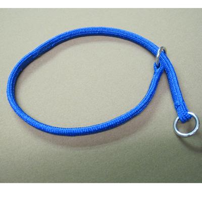 Nylon Dog Choke Blue Collar 10in