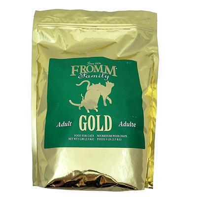 Fromm Family Farms Gold Adult Cat Food 5-Lb.