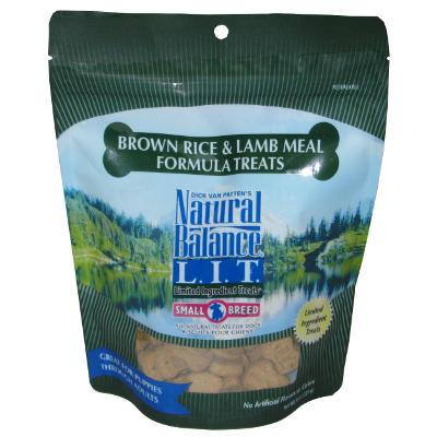 Natural Balance Lamb and Rice Dog Treats Small Breed