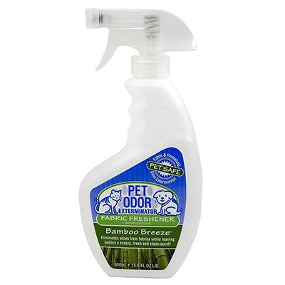 Pet Odor Exterminator Fabric Freshener Spray Bamboo Breeze Click for larger image