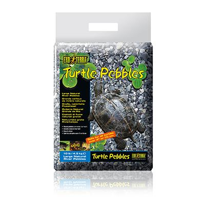 Exo Terra Large Turtle Pebbles 10Lb. Aquatic Turtle Gravel