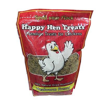 Happy Hen Mealworm Frenzy 30 ounce Chicken Treats