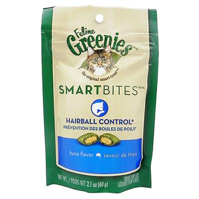 SmartBites Tuna Hairball Control Cat Treats 2-oz. Click for larger image