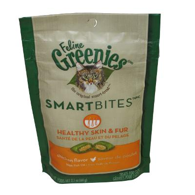 SmartBites Chicken Healthy Skin and Fur Cat Treats 2-oz.