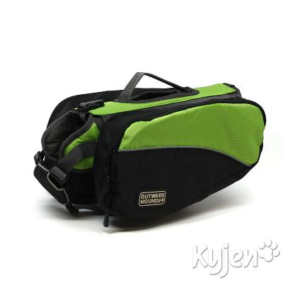 Outward Hound Small Green Backpack for Dogs