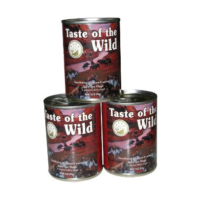 Taste of the Wild Southwest Canyon Canned Dog Food case