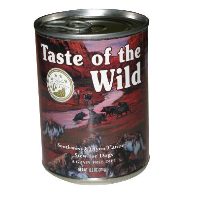 Taste of the Wild Southwest Canyon Canned Dog Food Each
