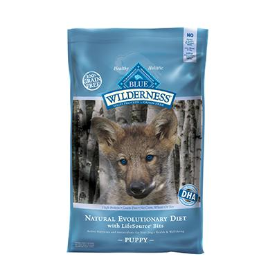 Blue Wilderness 24 lb High Protein Low Carb Food For Puppies
