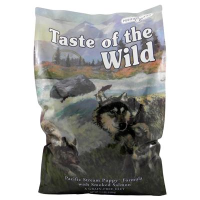 Taste of the Wild Pacific Stream Grain-Free Puppy Food 15Lb.