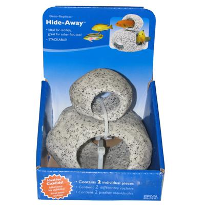 Deco-Replicas Hide-Away Small and Medium Aquarium Caves Click for larger image