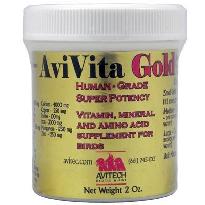 Avitech AviVita Gold 2 oz Bird Supplement