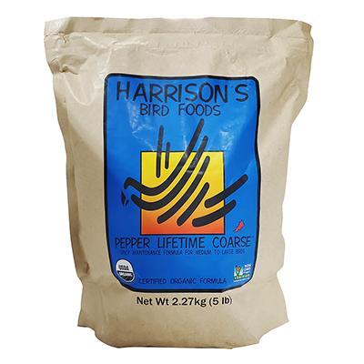 Harrison's Adult Lifetime Pepper Coarse Organic Bird Food 5#