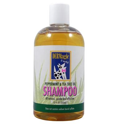 DERMagic Peppermint and Tea Tree Dog Shampoo 12oz