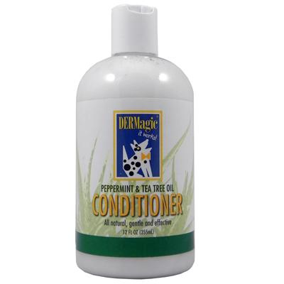 DERMagic Peppermint and Tea Tree Dog Conditioner 12oz