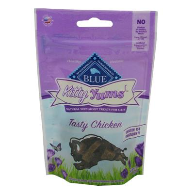 Blue Buffalo Kitty Yums Tasty Chicken Cat Treats 2-oz.