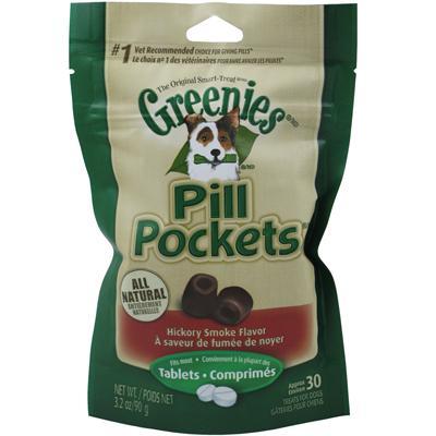 Pill Pockets Dog Small Hickory
