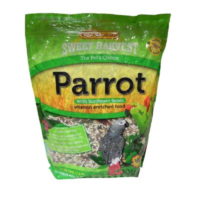 Sw Harvest Parrot w/ Sun 4 lb Click for larger image