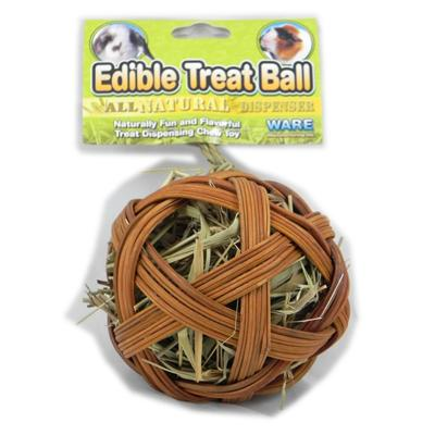 Ware Edible Treat Ball Small Animals 4 inch Click for larger image