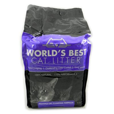 World's Best Lavender Multiple Cat Clumping Litter 7Lb.