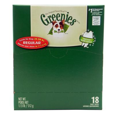 Greenies Regular Size Dog Dental Treat 18 Pack