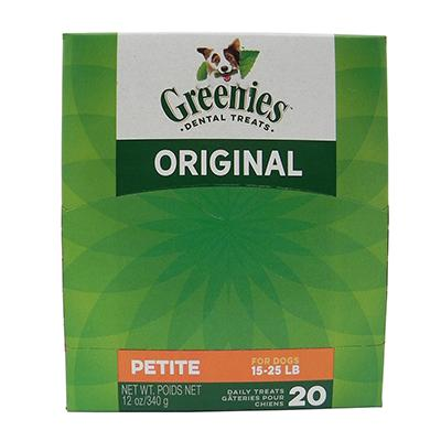 Greenies Petite Size Dog Dental Treat 25 Pack