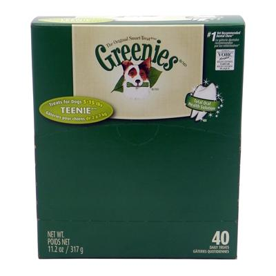 Greenies Teenie Size Dog Dental Treat 40 Pack