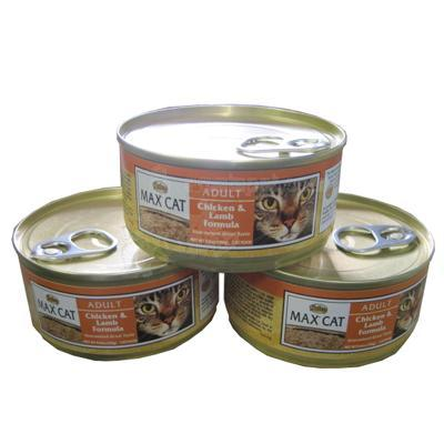 Nutro Max Cat Chicken & Lamb Canned Cat Food case