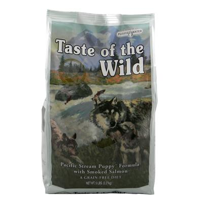 Taste of the Wild Pacific Stream Grain-Free Puppy Food 5Lb.