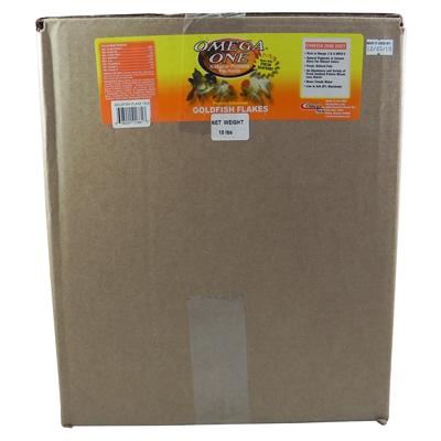 Omega One Goldfish Flakes Fish Food 10 lb.