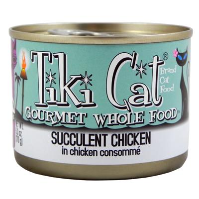 Tiki Cat Puka Puka Grain Free Chicken Gourmet Cat 6 oz Case