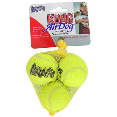 Air KONG Squeakers Small Tennis Ball 3pk for Small Dogs Click for larger image