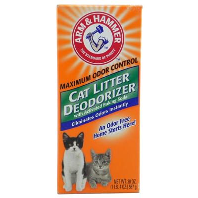 Arm and Hammer Baking Soda Cat Litter Deodorizer 20oz Click for larger image