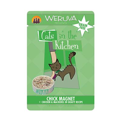 Weruva Chicken and Mackrel Cat Food 8-3oz. Pouches