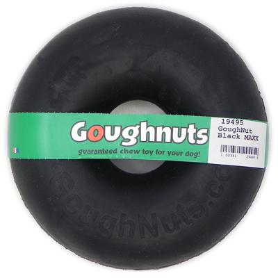 GoughNut Black MAXX Dog Chew Toy