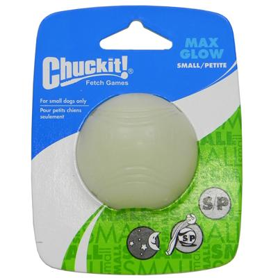 Chuckit Small Max Glow Dog Fetch Ball