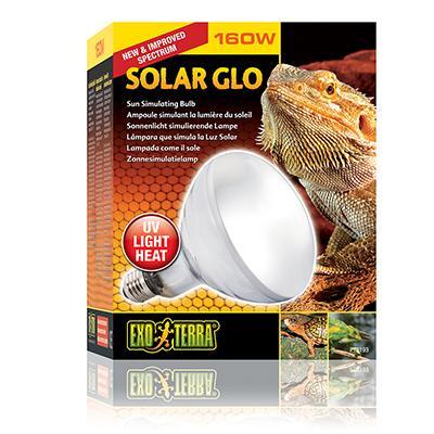 Exo Terra Solar Glo 160 watt UV Reptile Bulb