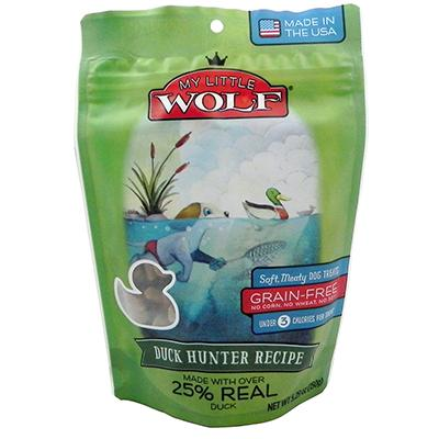 Waggers My Little Wolf Dog Treat Duck Hunter Recipe 5.29 oz