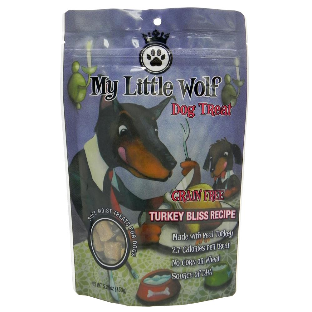 Waggers My Little Wolf Dog Treat Turkey Recipe 5.3 oz