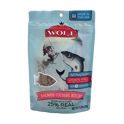 Waggers My Little Wolf Dog Treat Salmon Recipe 5.3 oz