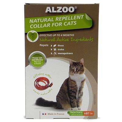 Alzoo Natural Repellent Flea Collar Cat
