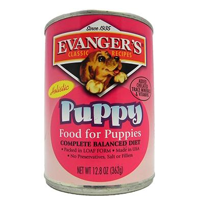 Evangers Classic Puppy Food Case of 12 12.8oz. Cans
