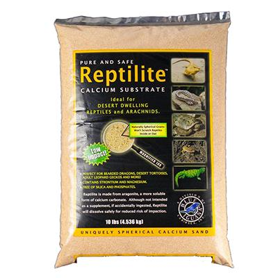 Reptilite Calcium Substrate Reptile Sand 10 lb Aztec Gold Click for larger image